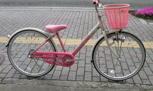 お子様には安心・安全な自転車を…!(女の子編)