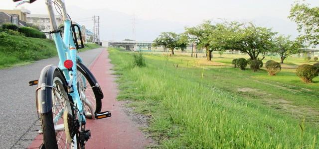 別子鉱山鉄道下部鉄道跡サイクリングコース