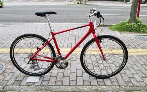 様々なシーンで快適な走りを楽しめるクロスバイク!