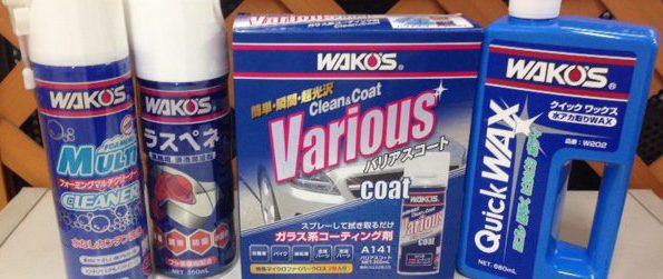 ネットでも話題!高評価!WAKO'S(ワコーズ)取扱いはじめます!